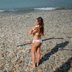 Aria: High Neck Bikini, Brazilian slip